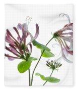 Honeysuckle Blossom Fleece Blanket