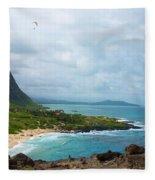 Honolulu Hi 10 Fleece Blanket