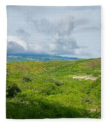 Honolulu Hi 13 Fleece Blanket