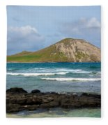Honolulu Hi 5 Fleece Blanket