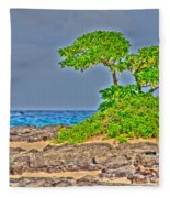 Honolulu Hi 7 Fleece Blanket