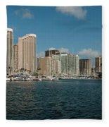 Honolulu Hi Fleece Blanket