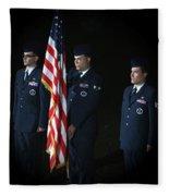 Honor Guard Fleece Blanket