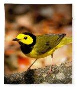 Hooded Warbler - Img 9352-003 Fleece Blanket