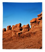 Hoodoos Row Fleece Blanket