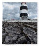 Hook Head Lighthouse Fleece Blanket