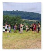 Hoop Camp Rw2k14 Fleece Blanket