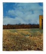 Hoosier Farm Fleece Blanket