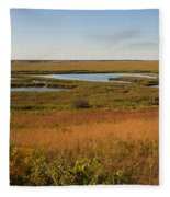 Horicon Marsh Fleece Blanket