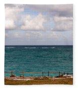 Horizon At Tulum Fleece Blanket