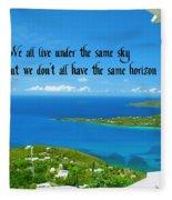 Horizons Fleece Blanket
