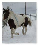 Horse 03 Fleece Blanket