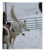 Horse 13 Fleece Blanket