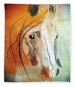 Horse 3 Fleece Blanket