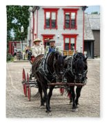 Horse And Buggy Sc3643-13 Fleece Blanket