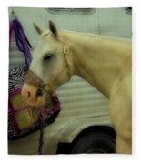 Horse Art 2 Fleece Blanket