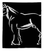 Horse - Big Fella Fleece Blanket