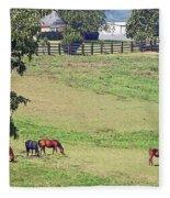 Horse Country Fleece Blanket