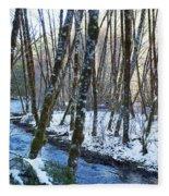 Horse Creek No. 2 Fleece Blanket