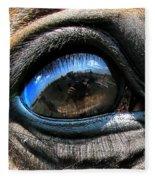 Horse Eye Fleece Blanket