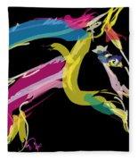 Horse- Lovely Colours Fleece Blanket