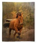 Horse Power Fleece Blanket