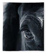 Horse Reflection Fleece Blanket