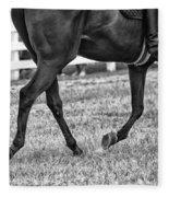 Horse Stepping Fleece Blanket
