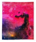 Horsehead Nebula Fleece Blanket