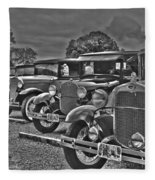 Horseless Carriages Fleece Blanket