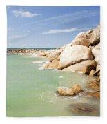 Horseshoe Bay South Australia Fleece Blanket