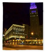 Horseshoe Casino Cleveland Fleece Blanket