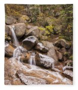 Horsethief Falls - Cripple Creek Colorado Fleece Blanket