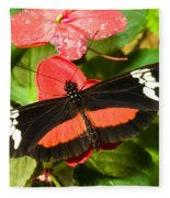 Hortense Butterfly Fleece Blanket