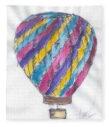 Hot Air Balloon Misc 02 Fleece Blanket