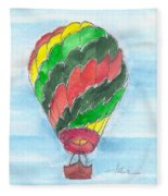 Hot Air Balloon Misc 03 Fleece Blanket