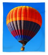 Hot Air Balloon Fleece Blanket