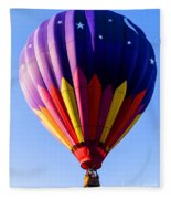 Hot Air Ballooning In Vermont Fleece Blanket