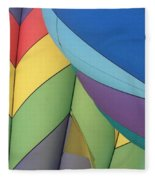 Hot Air Balloons 3 Fleece Blanket