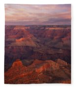 Hot And Cold Fleece Blanket