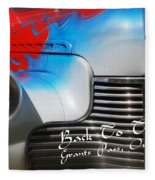 Hot Chevy Poster And Postcard Fleece Blanket
