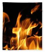 Hot Fire Fleece Blanket