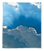 Hot Italian Clouds Fleece Blanket