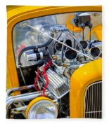 Hot Rod Fleece Blanket