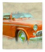 Hot Rod Fleece Blanket