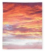 Hot Sky Fleece Blanket
