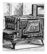 Hot Water Oven, 1875 Fleece Blanket