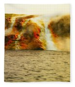 Hot Water Pouring Fleece Blanket