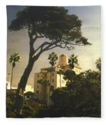 Hotel California- La Jolla Fleece Blanket