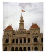 Hotel De Ville Saigon Fleece Blanket